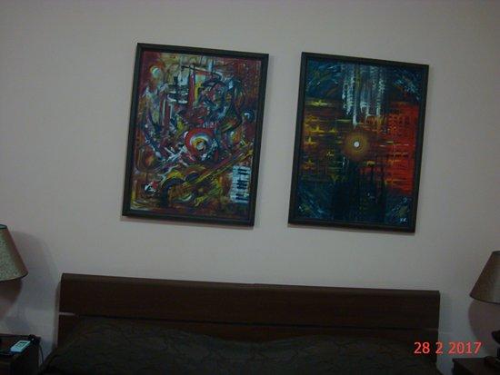 Hin Yerevantsi Hotel: Номер