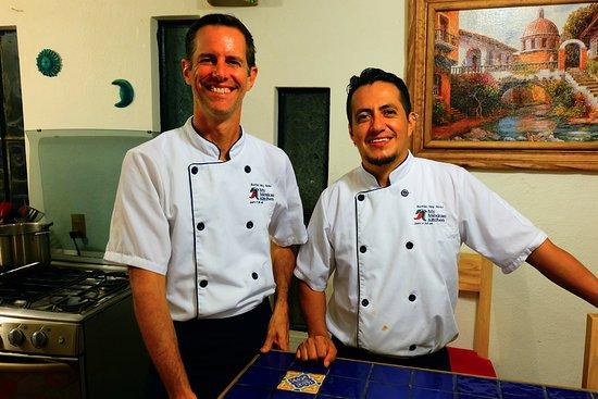 My Mexican Kitchen: Travis & Edgar.