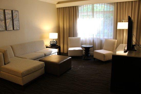 Hilton Santa Cruz / Scotts Valley: Wohnzimmer