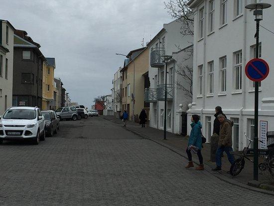 Luna Hotel Apartments: No parking sign
