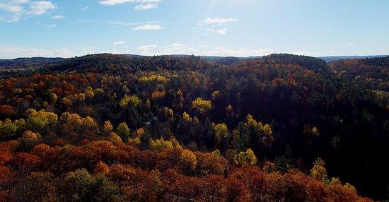 Wakefield, Canadá: Gatineau Hills near our inn