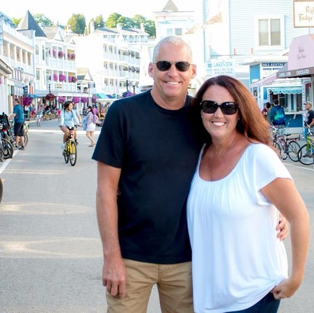 Cottage Inn of Mackinac Island : Innkeepers, David and Rose Witt