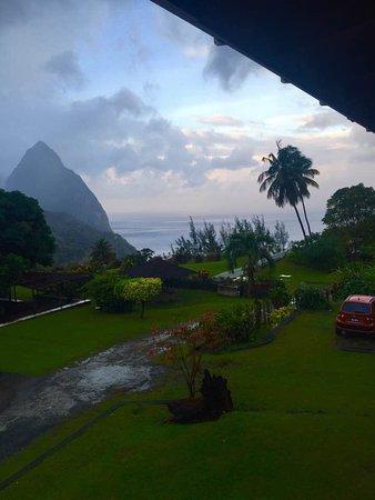 La Haut Resort: View from the upper rooms