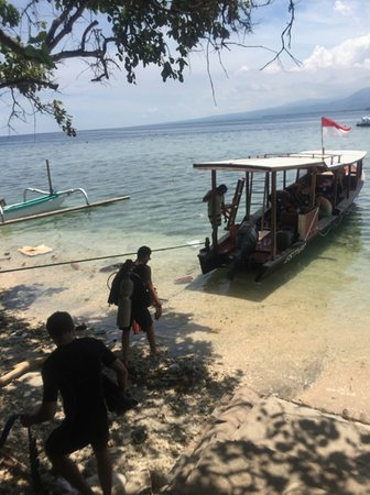 Gili Air, إندونيسيا: About to leave...