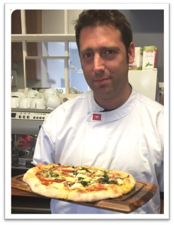 Ardmore, Ireland: Home-Made pizza - best in Ireland? Just maybe!