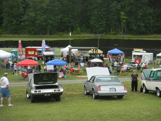 Small Country Campground: Car show at one of our events