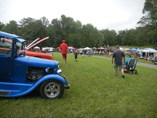 Small Country Campground: Car show