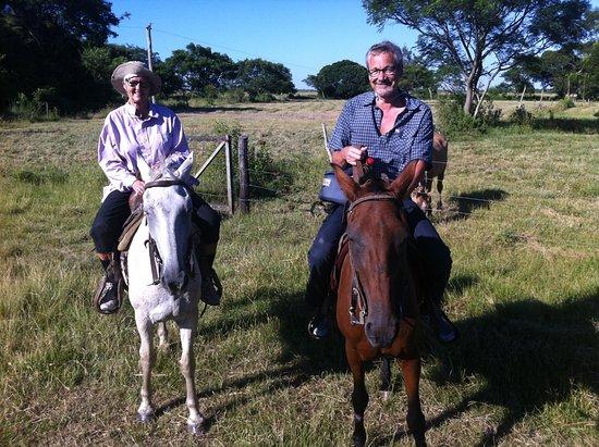 Resistencia, Αργεντινή: Ridetur på pampasen med et forsøg på at være cowboy