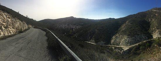 Kalavasos, Cyprus: Panorama auf die Ortschaft