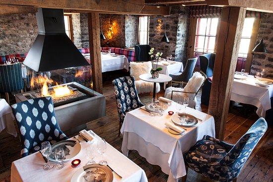 Auberge Saint-Antoine: Enjoy a meal at Panache