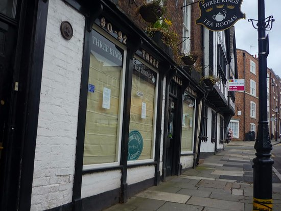 Three Kings Tea Rooms - now permanently closed