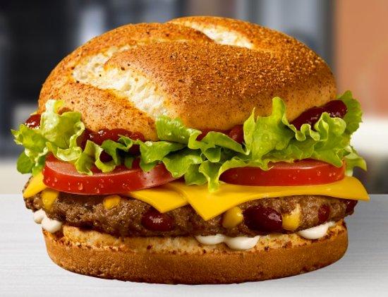 McDonald's & McCafe: Looks good .. tasted so so