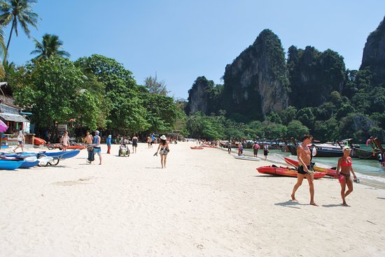 Long Boat Picture Of Railay Beach Tripadvisor