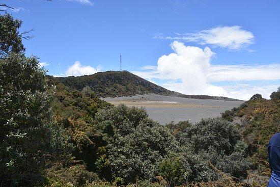Provincia de Cartago, Costa Rica: Vista desde la entrada del llano de arena