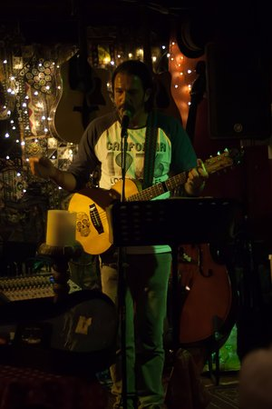 Rock Island Bar: David Wyatt March 2017