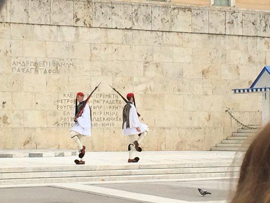 Photo of Monument / Landmark Platia Syntagmatos at Λεωφόρος Βασιλίσσης Αμαλίας, Athens 105 63, Greece