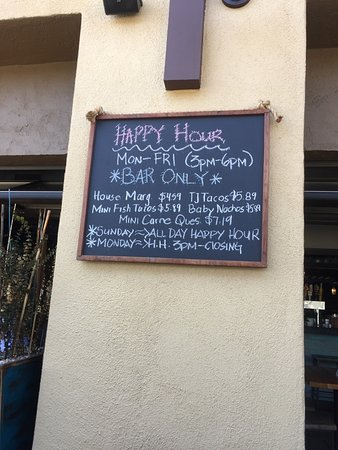 Solana Beach, CA: Happy Hour