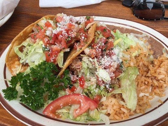 Solana Beach, Kaliforniya: Taco Plate