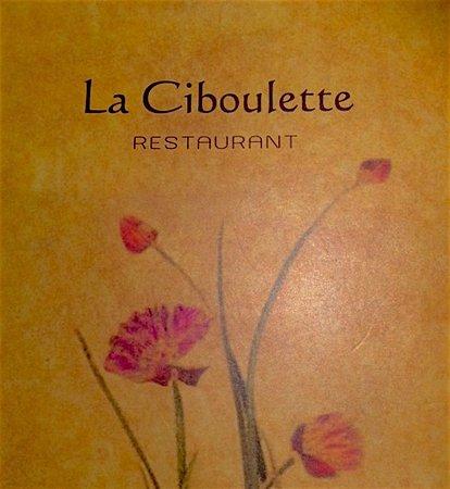 La Ciboulette: Menu