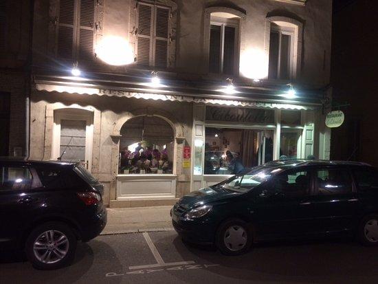 La Ciboulette: Entrance
