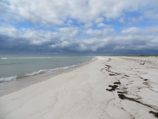 Saint George Island State Park Beach At The End Of St