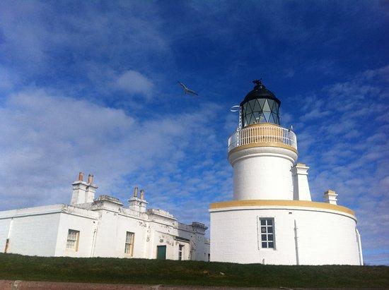 Fortrose, UK: The lighthouse