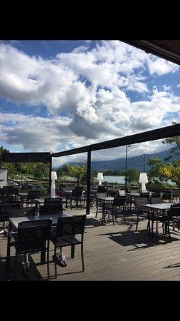 Viviers-du-Lac, France: Photo de la terrasse