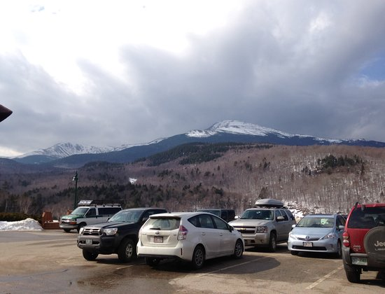 Gorham, NH: View from the center parking lot.