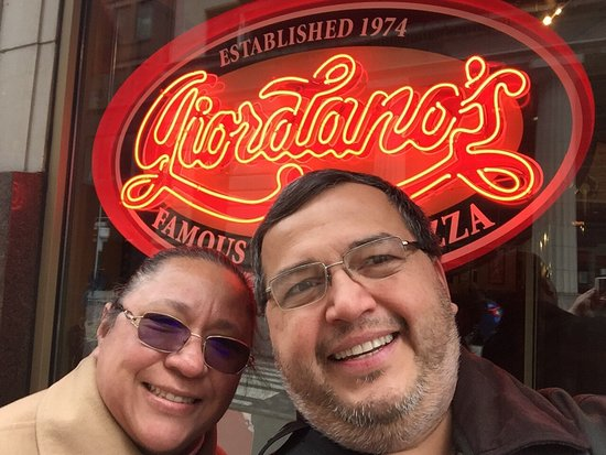 Photo of Italian Restaurant Giordano's Pizzeria at 223 W Jackson Blvd, Chicago, IL 60606, United States