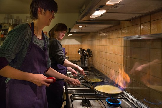 Anzex, France: French Cooking Course | Crepes