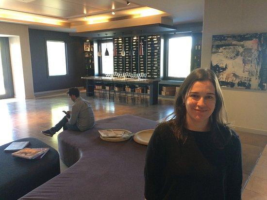 Agrelo, Argentina: Salão principal