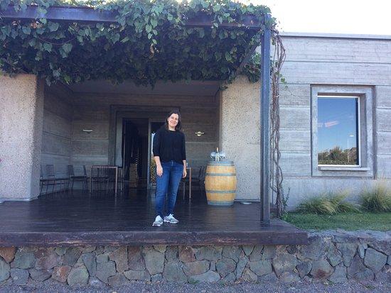 Agrelo, Argentina: Local da degustação