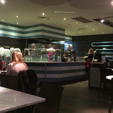 Inside Chefs At Work Picture Of Pizza Express Bramhall