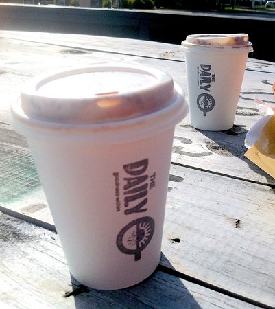 Te Puke, Nouvelle-Zélande : take away coffees