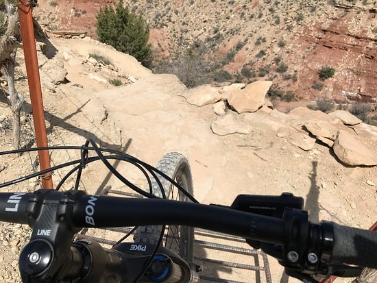 Springdale, UT: We spent our Sunday Mt Biking the JEM and Gould trails.   The guys at Zion Cycles were incredibl