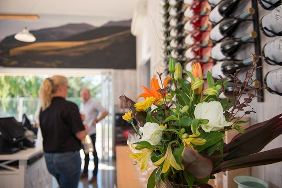 Cromwell, New Zealand: Interior of Tasting Room