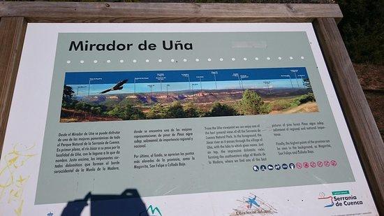 Valdecabras, Spanyol: Mirador