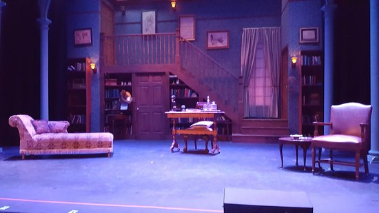 Welk Resorts Theatre: My Fair Lady Stage Setting