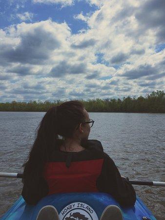 Pearl River, Λουιζιάνα: Relaxing open water