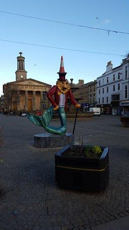 Elgin, UK: Statue