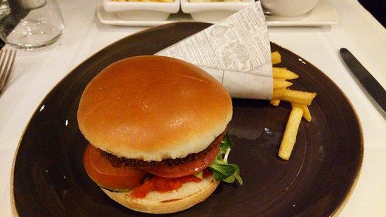 Duiven, Нидерланды: Bean Burger (hoofdgerecht)