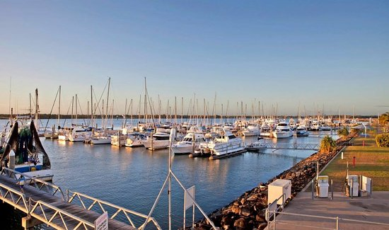 Overlooking the Bundaberg Port Marina