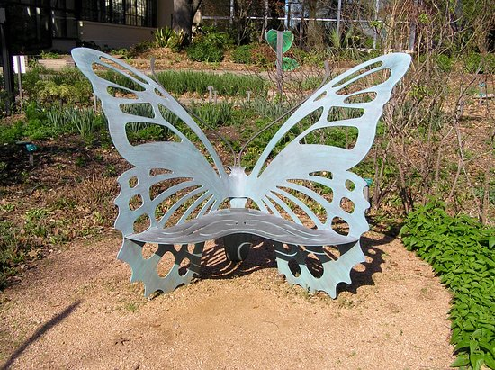 Nice Texas Discovery Gardens: A Butterfly Bench