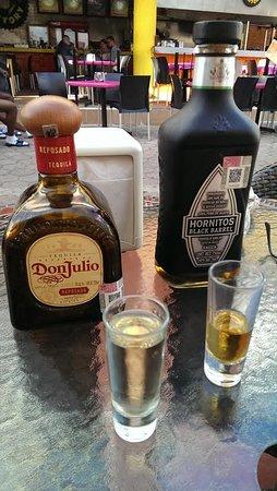 Tacos Caminero: Tequila Shots