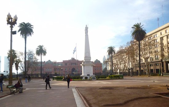 Photo of Church Plaza de Mayo at Buenos Aires, Argentina