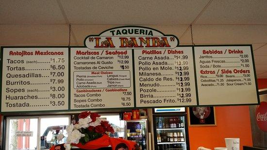 Marysville, WA: Complete menu