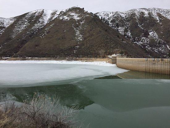 Arrowrock Dam and Reservoir