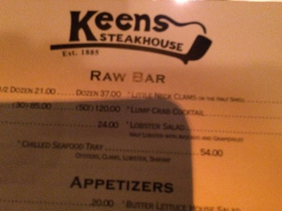 Keens Steakhouse: photo0.jpg