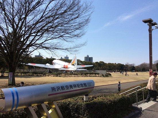 Tokorozawa Aviation Memorial Park: 記念館の前から公園の一部