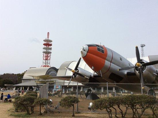 Tokorozawa Aviation Memorial Park: 公園内には飛行機の展示が多い